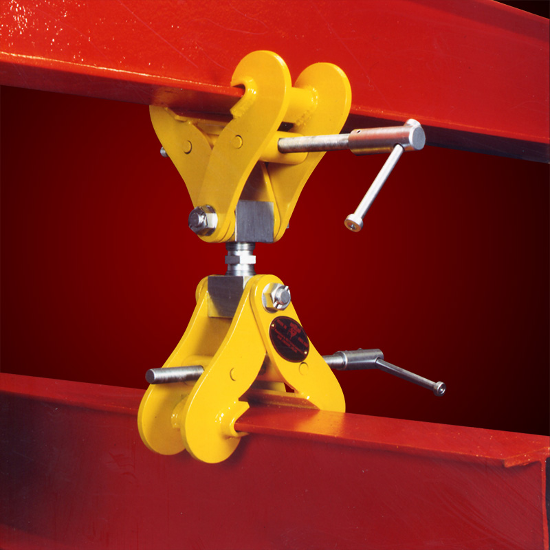 Monorail construction clamps