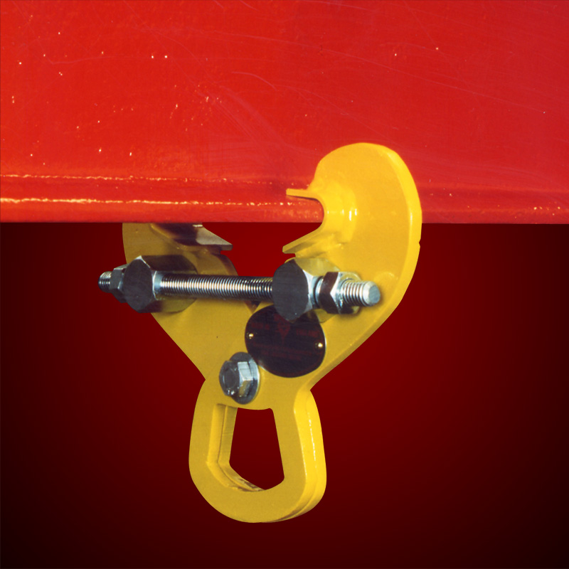 Permanently Fixed Adjustable Girder Clamp